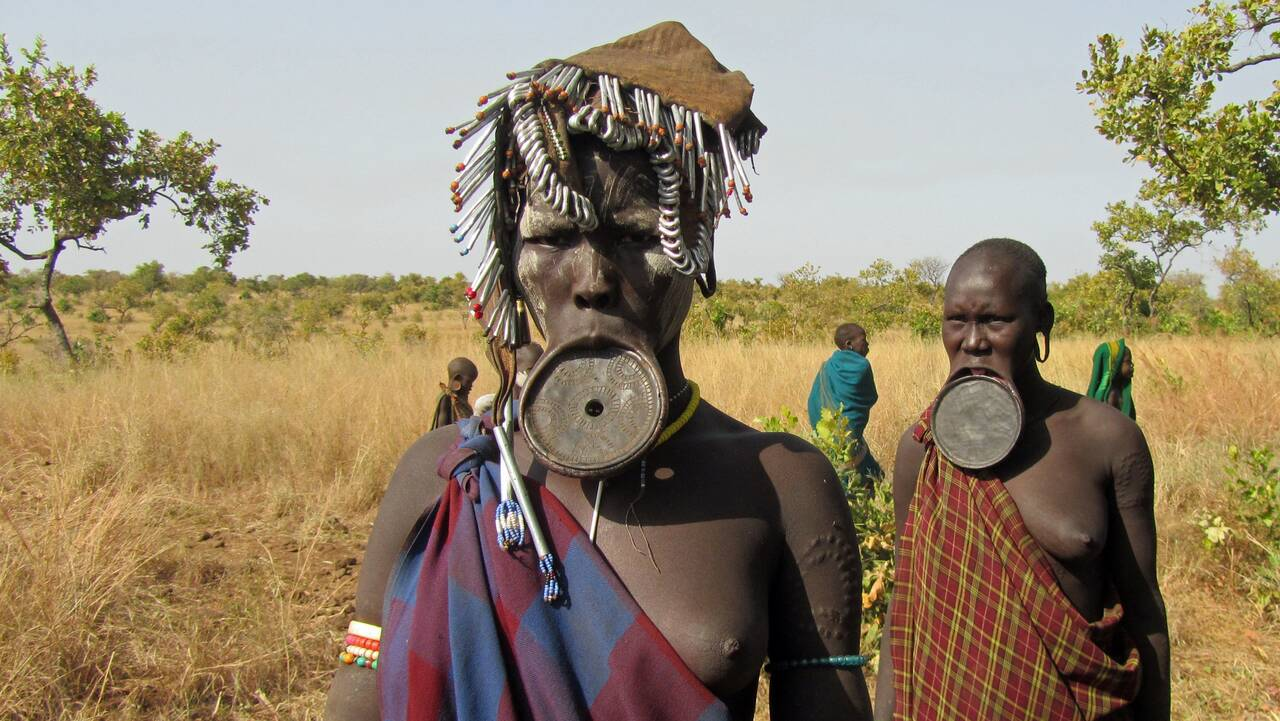 mursi, people, lip plate - Prime Promotion GmbH